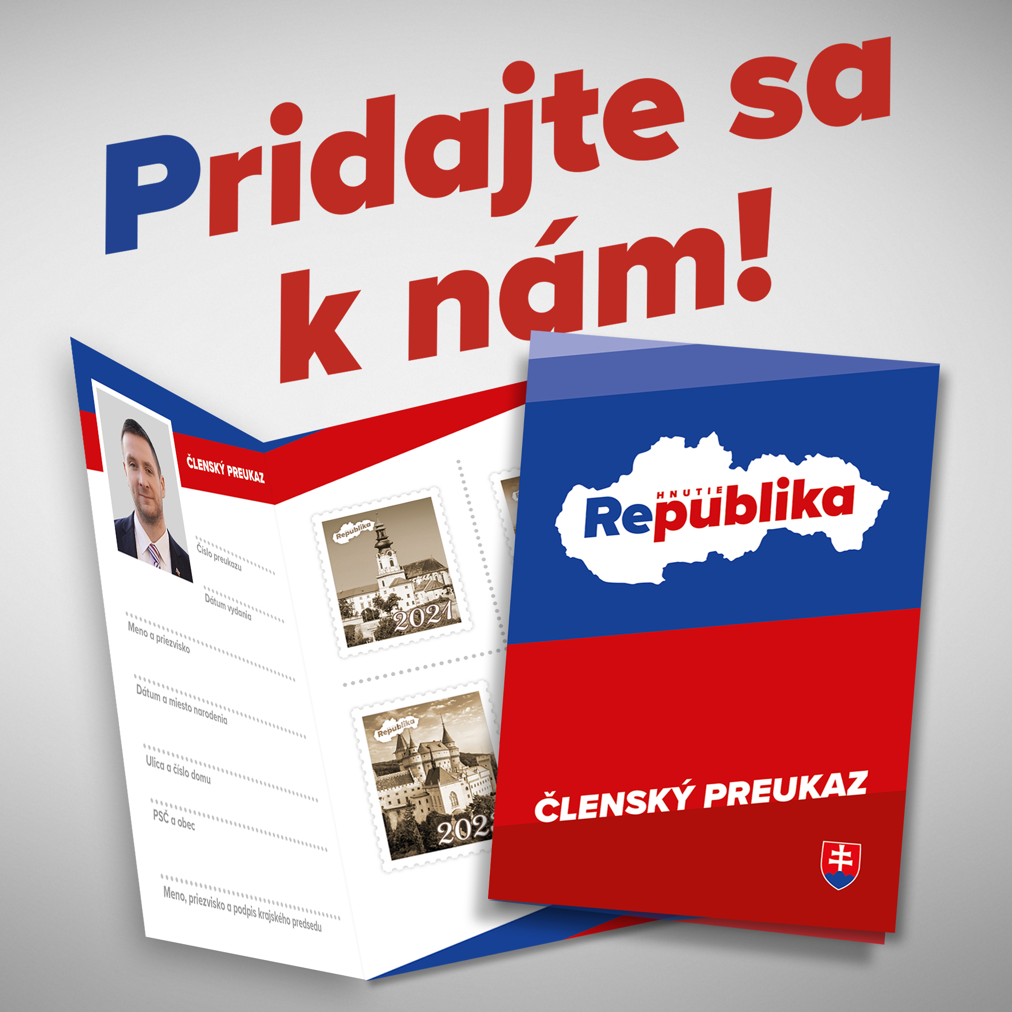 Clensky preukaz REPUBLIKA