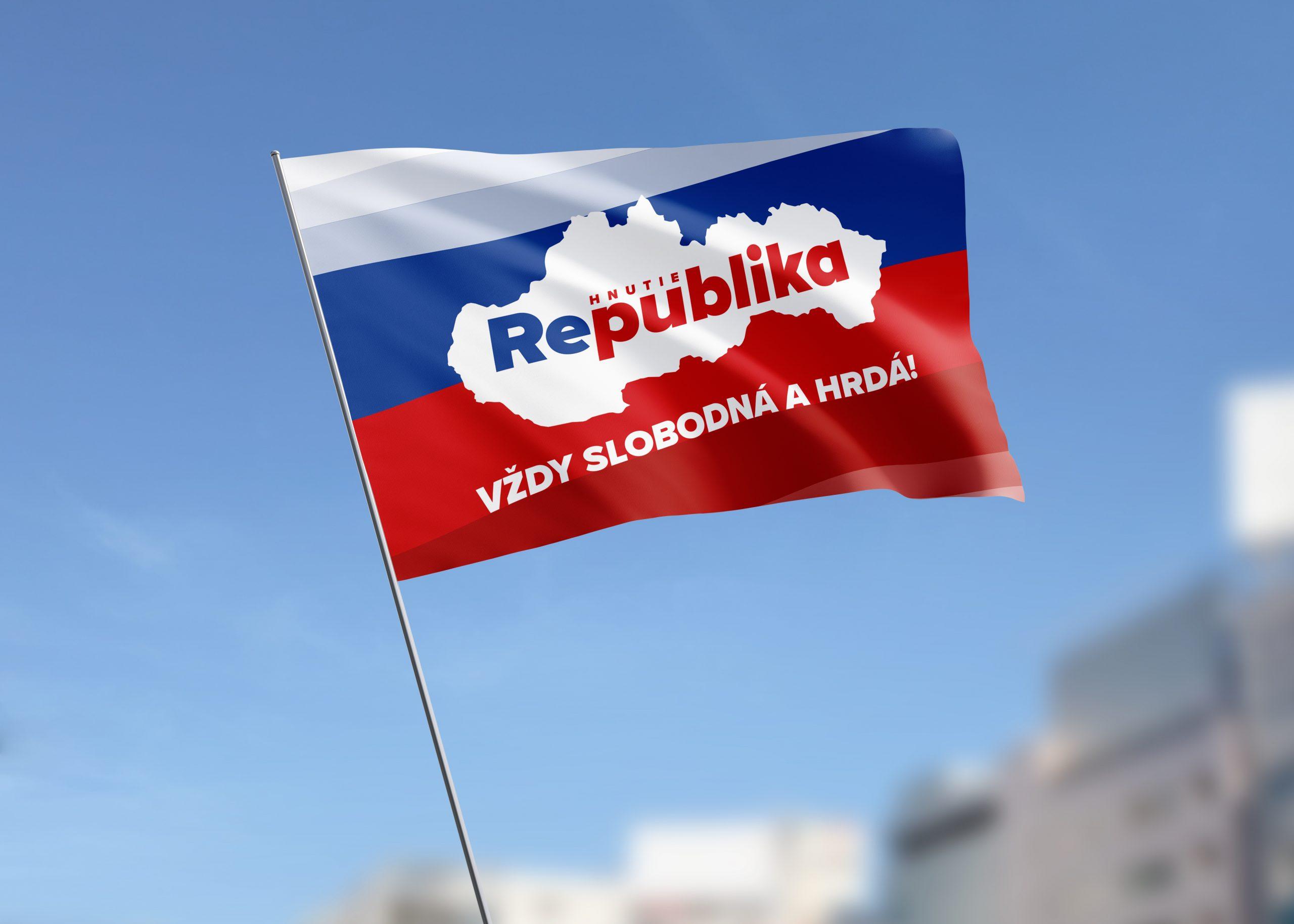 Vlajka REPUBLIKA